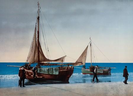 Barcos En Scheveningen La Haya