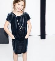 Vestido Terciopelo Zara Kids