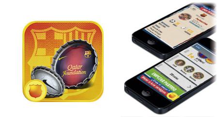 FCB Capball, nuevo y divertido juego de chapas del FC Barcelona