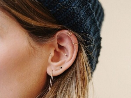 ffde3eeb036d Si no sabes cómo se llaman los piercing de oreja que más triunfan en  Instagram