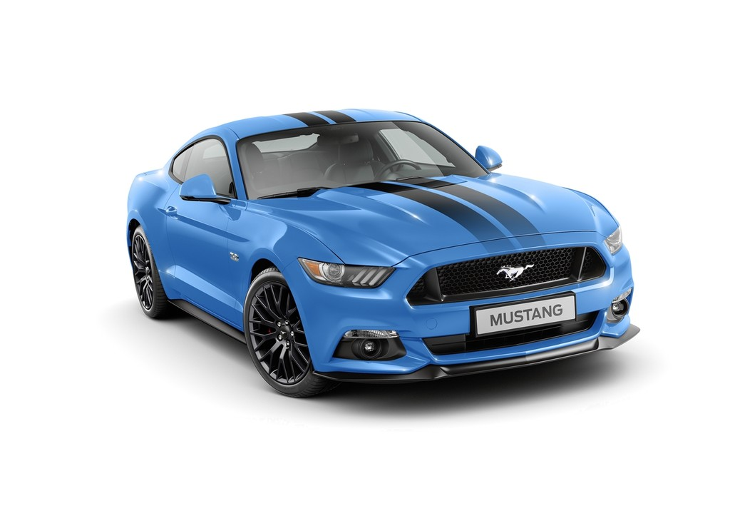 Ford Mustang Black Blue Edition 2017 000