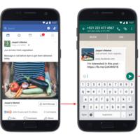 WhatsApp se integra en los anuncios de Facebook con un botón para contactar con los anunciantes