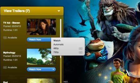 Apple reduce las posibilidades de descarga en la sección de Trailers de su web