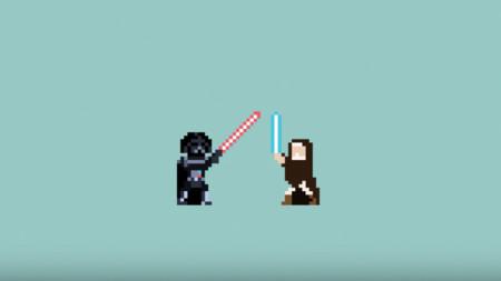 Las muertes más importantes de Star Wars contadas en vídeo y en gloriosos 8-bits