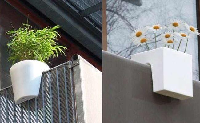 Magazine terraza for Macetas para balcon