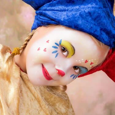 21 maquillajes y peinados sencillos para disfrazar a los niños en Carnaval