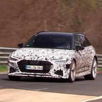 ¡Cazado en Nürburgring! Así se muestra el nuevo Audi RS6 Avant paseando sus... ¿¡650 CV!?