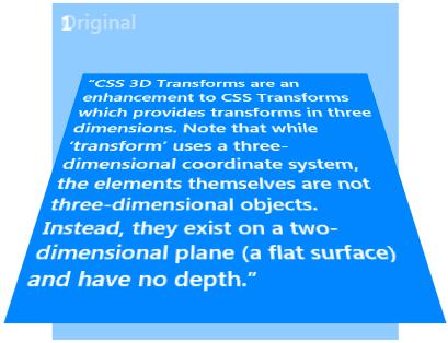 Transformacion 3D CSS