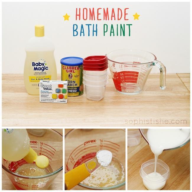 bath painting