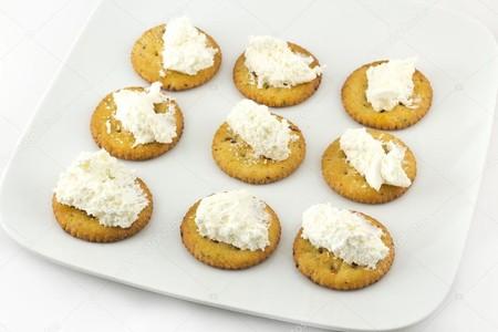 Depositphotos 62741415 Stock Photo Crackers And Cream Cheese