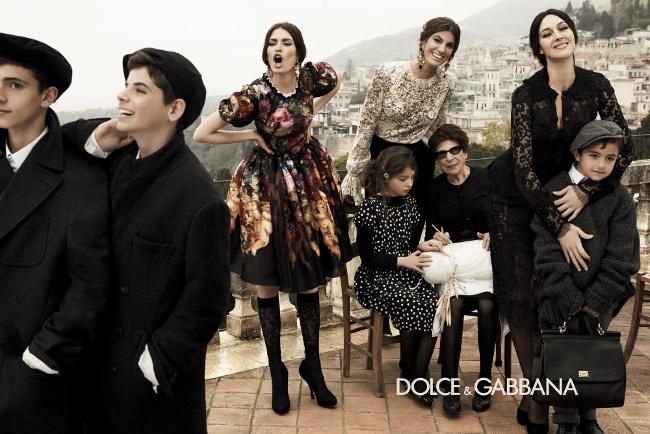 Dolce & Gabbana Campaña Otoño Invierno 2012