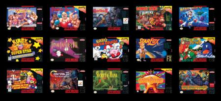 Algunos juegos SNES Classic