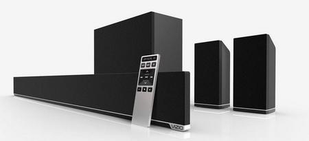 Vizio ya tiene listas sus nuevas barras de sonido para teles de gran formato