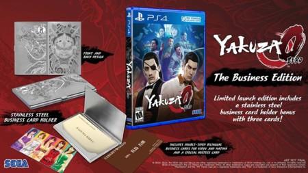 Yakuza Zero tendrá edición física en América
