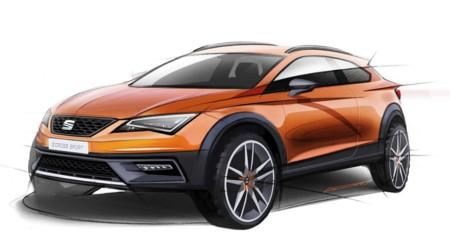 SEAT Leon Cross Sport, adelantando en boceto las líneas de otro León muy campero