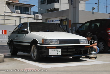 Toyota Corolla AE85 Levin