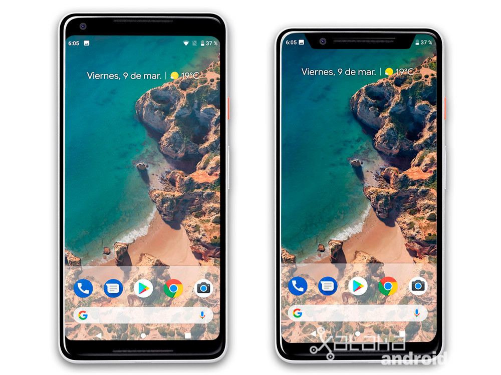 Pixel dos XL Notch