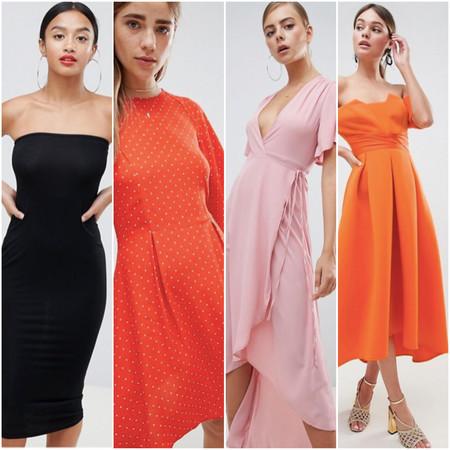 99370bca0f76 9 vestidos de invitada por menos de 35 euros en ASOS