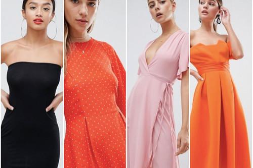 9 vestidos de invitada por menos de 35 euros en ASOS