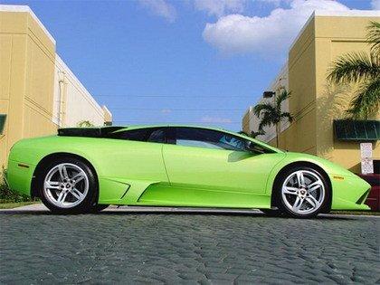 Lamborghini Murcielago LP640 verde