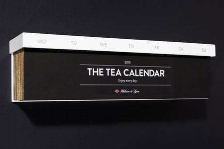 Un té para cada día en forma de calendario