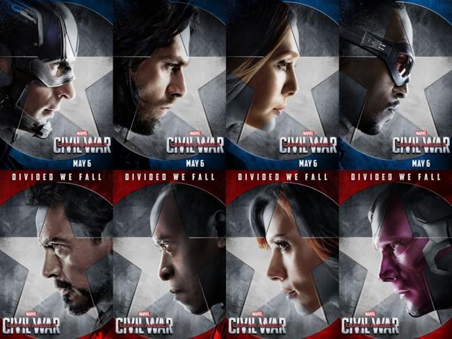 Los superhéroes de Marvel están en guerra
