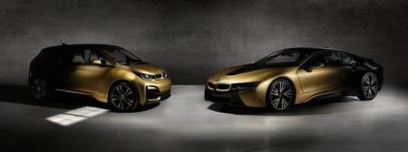 BMW i8 e i3 Starlight, electricidad con una capa de oro de 24 quilates