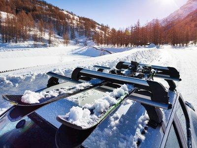 ¿Viaje de esquí? Nos vamos en mi SUV
