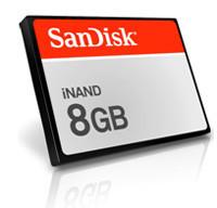 3GSM: Memorias iNAND de 8 GB de SanDisk