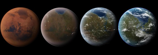 Outer Space Planets Earth Terraforming Mars Atmosphere Planet Desktop 2560x1600 Hd Wallpaper 9595221