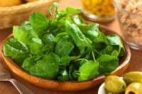 Las verduras frescas con más calcio