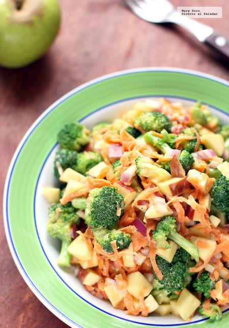 como preparar ensalada de zanahoria y brocoli