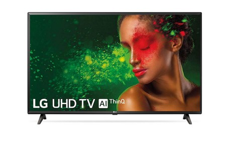 Este Smart TV LG de 43 pulgadas, con resolución 4K, está hoy más barato en Plaza utilizando el cupón AHORRA40: por 285 euros