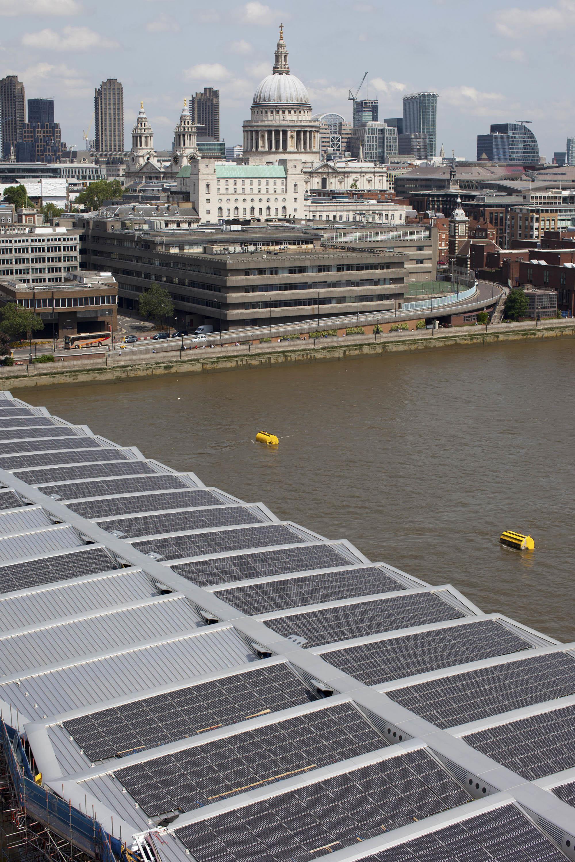 Panasonic puente solar