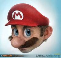 Un Mario hiperrealista