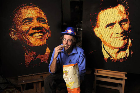"""Jason Baalman el chico que """"pinta"""" con Cheetos"""