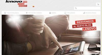 Nace Lenovo, el nuevo proyecto de empresa de Weblogs SL