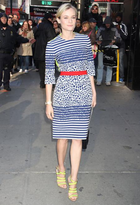 Diane Kruger y su variada y acertada paleta de color