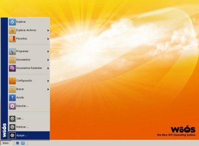WôÓS un nuevo sistema operativo gratuito compatible con Windows, creado por un español