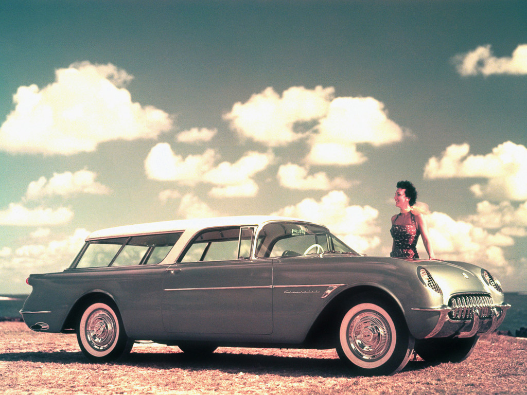 Chevrolet Nomad Concept Car 1954