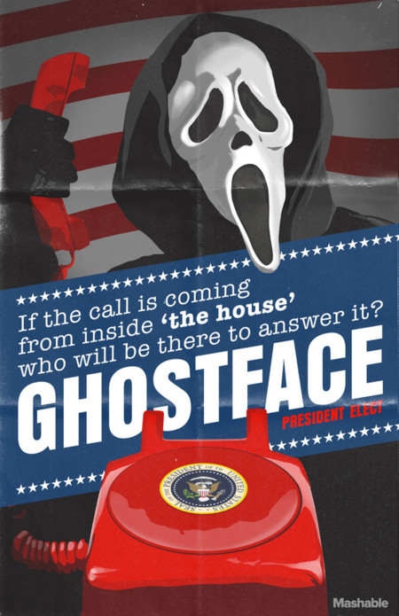 Horror Pres Posters Ghostface