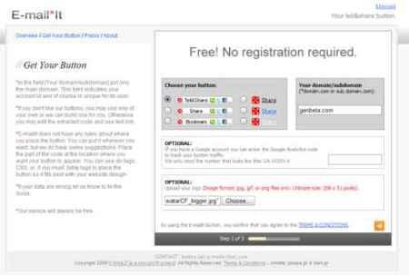 E-mail*it, nueva botonera para compartir contenidos de nuestras webs