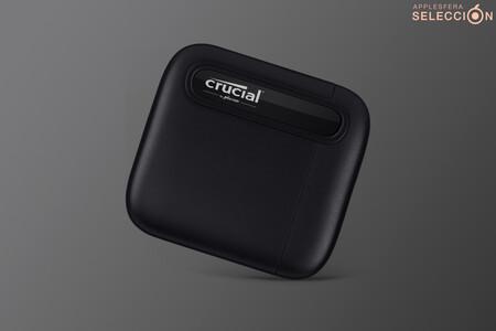 Esta SSD portátil de 1 TB USB-C de Crucial es la compañera perfecta para los MacBook por 87,99 euros, su precio mínimo en Amazon