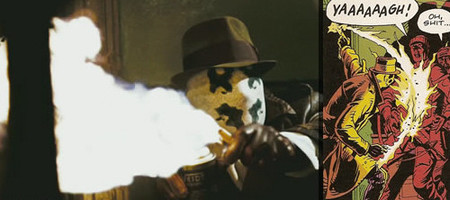 No le pidas fuego a Rorschach
