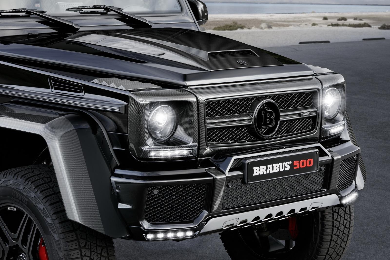 Foto de Brabus Mercedes-Benz G 500 4x4² (7/11)