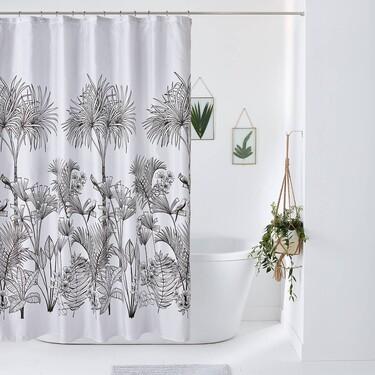 Las 8 cortinas de baño más bonitas para dar un toque de estilo a tu bañera o ducha