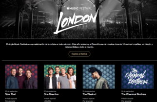The Weeknd, Take That, The Chemical Brothers. Nuevas incorporaciones al cartel del Apple Music Festival