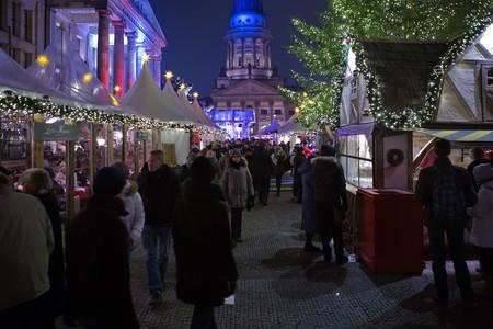 mercadillo navideño de Berlín