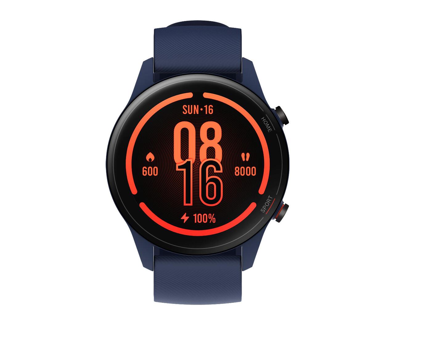 """Xiaomi Mi Watch (Black) Pantalla 1.39"""" AMOLED, Medición de Nivel de oxígeno en Sangre, y seguimiendo de 100+ Ejercicios"""