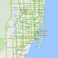 Google Maps alertará en tiempo real qué rutas se cierran durante el huracán Irma